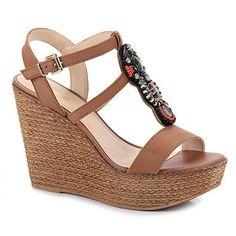 f510cf648 8 melhores imagens de Anabela | Anabela, Botas e Sapatos lindos