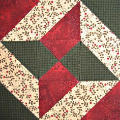 Starwood Quilter: Wandering Star Quilt Block
