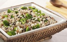 Arroz Sete Grãos com Brócolis