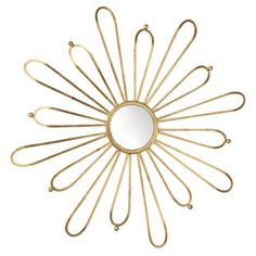 I pinned this Cleopatra Flower Mirror from the Style Study event at Joss & Main!