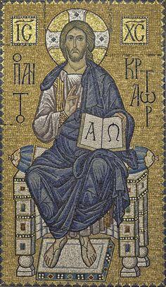 Byzantine Art, Byzantine Icons, Religious Images, Religious Art, Pictures Of Jesus Christ, Religion Catolica, Biblical Art, Historical Art, Catholic Art