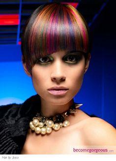 Vibrant Scene Hair Color http://www.gallery.becomegorgeous.com/scene_girl_hairstyles/vibrant_scene_hair_color-2153.html
