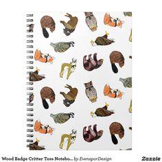 Wood Badge Critter Toss Notebook