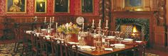 Dining Room, Holker Hall