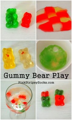 6 things to do with gummy bears