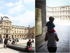 The Louvre is always worth a visit, even if you don't have time to view the exhibitions. When the sun is shining, spend some time in the magnificent courtyard, you'll be glad you did. Getting there: take metro lines 1 or 7 to Musee du Louvre.