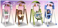 Solace Snugabunny Deluxe Baby Swing from the Sims 3 Store (500 SimPoints)