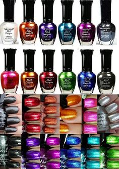Kleancolor Nail Polish - Awesome Metallic Full Size Lacquer (Set of 12 Pieces) - The Product Promoter