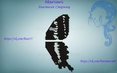 Крылышки, бабочки | biser.info - всё о бисере и бисерном творчестве