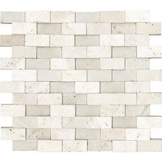 anatolia honed cubics ivory travertine mosaics 1 inch x 2 inches 76 backsplash tilebacksplash. beautiful ideas. Home Design Ideas