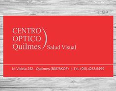 "Check out new work on my @Behance portfolio: ""Tarjeta para Centro Optico / business card"" http://be.net/gallery/40640127/Tarjeta-para-Centro-Optico-business-card"