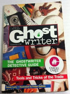 Ghostwriter: Ghostwriter Detective Guide : Tools and Tricks of the Trade by Susan Lurie Paperback) for sale online The Bloodhound Gang, Ghostwriter, Favorite Tv Shows, My Favorite Things, Detective, Mystery, Tools, Instruments