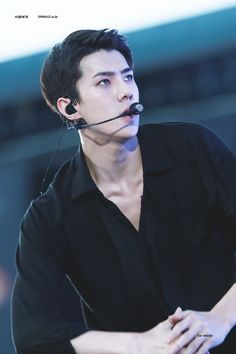 170527 - Sehun at #EXOrDIUMdotinSeoul Day 1. (cr.for_windy) | Twitter