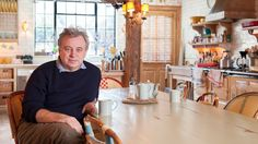 Keith Mc Nally in London with our handcrafted French Bistro Chairs - Maison Gatti - www.capsudusa.com