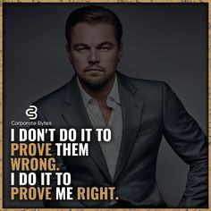 Absolutely. My success isn't built on your doubts. Your doubt in my abilities doesn't motivate me - it just makes me sad that your satisfaction comes from speaking negatively about me.