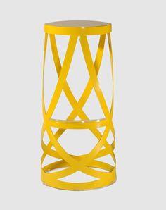 CAPPELLINI - Ribbon high stool by Nendo