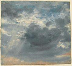 constable, cloud study 2