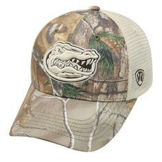 d471359ac52 Top of the World Men s University of Florida Prey Cap Real Tree Camouflage