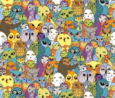 Fabric – Shop for Fabric By Independent Designers – Spoonflower  Can you imagine a diaper made out of this?