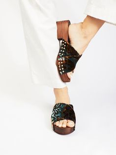 ce3670dc7 Velvet Dreams Clog Western Style Belts, Baggy Sweaters, Fall Shoes, Summer  Shoes,