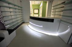 Pharmacy interior design