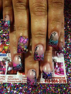 Lisa frank nails