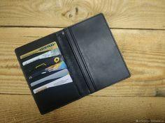 Чёрное мужское портмоне из натуральной кожи ручная работа Amazing Pics, Wallet, Purses, Diy Wallet, Purse