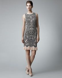 Alexander McQueen Barnacle Dress