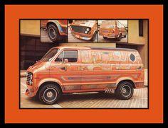 '74 Dodge Custom Van, 1978