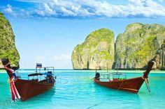"""Playas de Phi Phi. Thailandia. """"La Playa""""."""