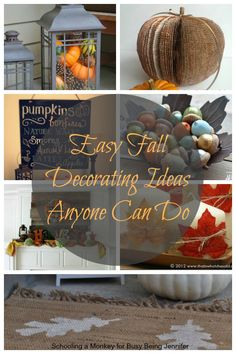 Easy Fall Decorating Ideas Anyone Can Do - Busy Being Jennifer