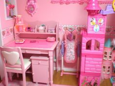 Image about pink in room🌙 by ˙˚°☆MHL☆°˚˙ on We Heart It Pastel Room, Pink Room, Girls Bedroom, Bedroom Decor, Bedrooms, Kawaii Bedroom, Princess Room, Room Goals, New Room