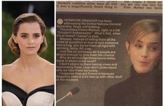 """The Sun Called Emma Watson's Speech On Equality """"Whining Crap"""""""