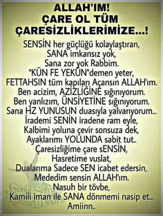 #ayet  corek-otu-yagi.com  Vuslat Leyla My Dua, Allah Islam, S Word, Cool Words, Favorite Quotes, I Am Awesome, Prayers, Religion, Sayings