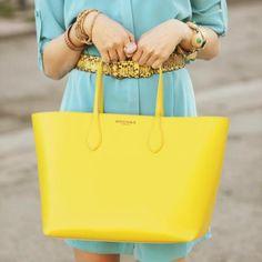 Bright Yellow Bag