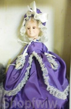 Hamilton Collection Boehm Porcelain Elena Christening Doll