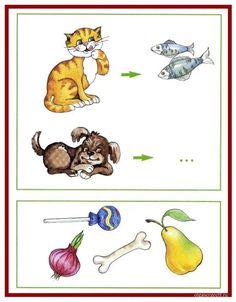 Autismus Arbeitsmaterial: Logik: verbinde