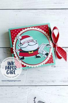 Stampin' Up Santa's