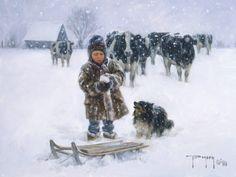 """Good Snow"" by Robert Duncan"