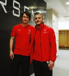 Tomas Rosicky and Jack Wilshere are back in action for Arsenal in the U21 match against Newcastle United U21! #COYG #Arsenal #AFC