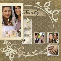 Wedding Scrapbook Pages - Bing Images