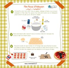 Halloween Pizza, Mini Pizzas, Healthy Toddler Breakfast, Mini Pizza Recipes, Blog, Make It Yourself, Baking, Desserts, Courses