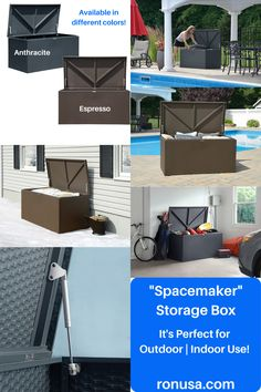 It's perfect for your Outdoor | Indoor Storage needs. #storage box #deck box