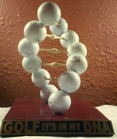Novelty Golf Trophy for a Man Cave Brass Plate by PenRockDesign, $25.00