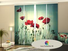 Auf Maß Window Treatments & Hardware Cooperative Fotogardinen Orchid Schiebevorhang Schiebegardinen Vorhang Gardinen 3d