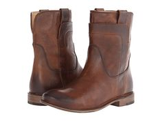 Frye Paige Short Riding Black Smooth Vintage Leather - Zappos.com Free Shipping BOTH Ways