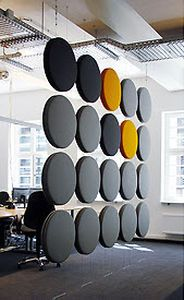 sound baffling partition wall