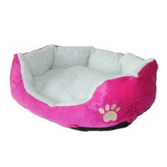 NAVA Cute Pink Soft Fleece Cotton Pet Home Bed Cat Dog House Bed Mat *** Check out this great product.