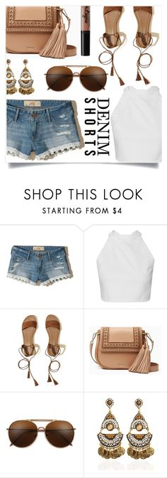 """""""Untitled #1376"""" by kaymeans ❤ liked on Polyvore featuring Hollister Co., Kate Spade and NYX"""