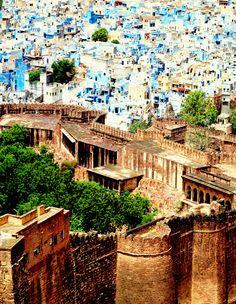 Jodhpur, India. The Blue City